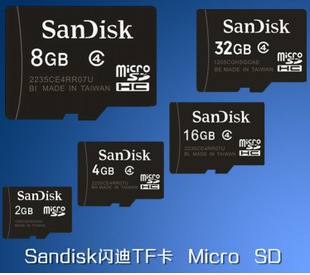 Карта памяти Sandisk 16GB TF 16G TF/MICRO SD