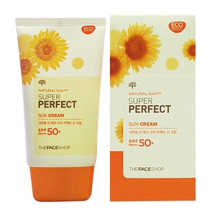 Солнце The face shop  SPF50