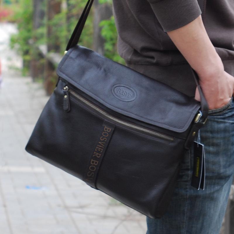 Мужские кожаные сумки через плечо купить на алиэкспресс