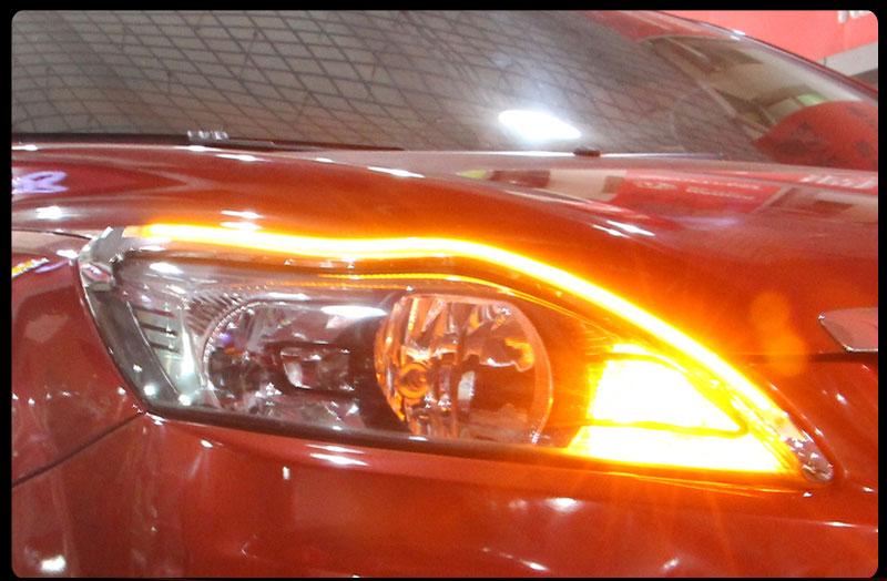 Дневные ходовые огни на форд фокус 3 своими руками