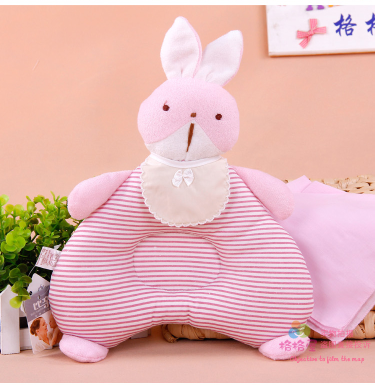 The new princess house authentic than the pro-baby shape pillow baby pillow shape to correct anti-migraine headrest essential supplies