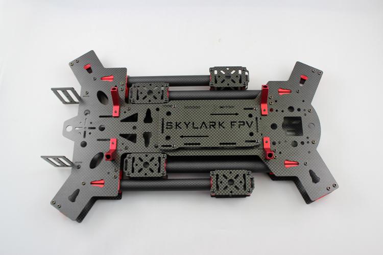 New 680mm Alien Carbon Fiber Folding Quadcopter Frame Kit