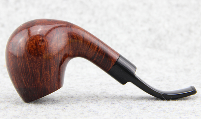 Курительная трубка Оригинальные импортированные Германии гладкой камень Вуд труба 9 мм фильтр дизайна Берлин Германия DB изогнутые трубы