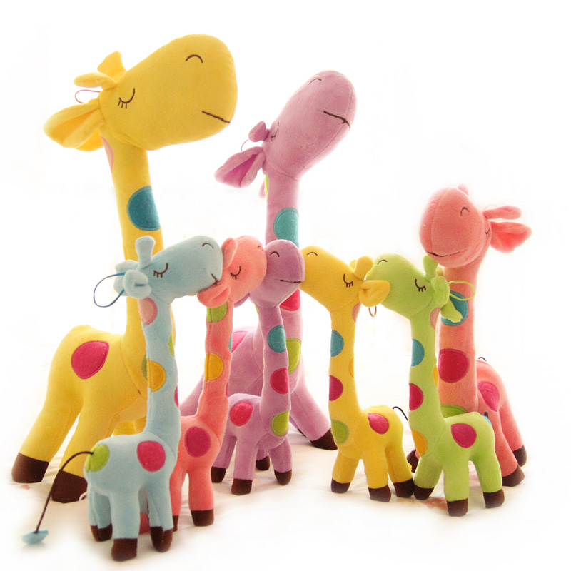 Courtney Love Billiton children Giraffe plush toy idea deer Cervus Nippon dolls doll Dolls House decorations decorations wedding celebration gift