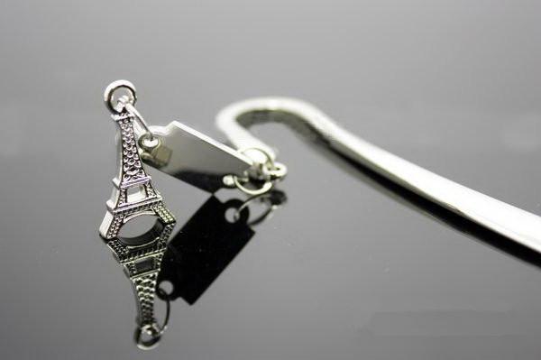 Umi Special gift splitting plane Paris Eiffel Tower metal bookmark Eiffel Tower bookmark