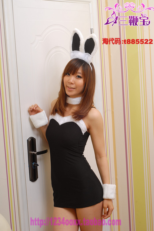 Other brands Sexy lingerie female KTV bunny dress uniform temptation student performance stage Catwoman costume pajamas