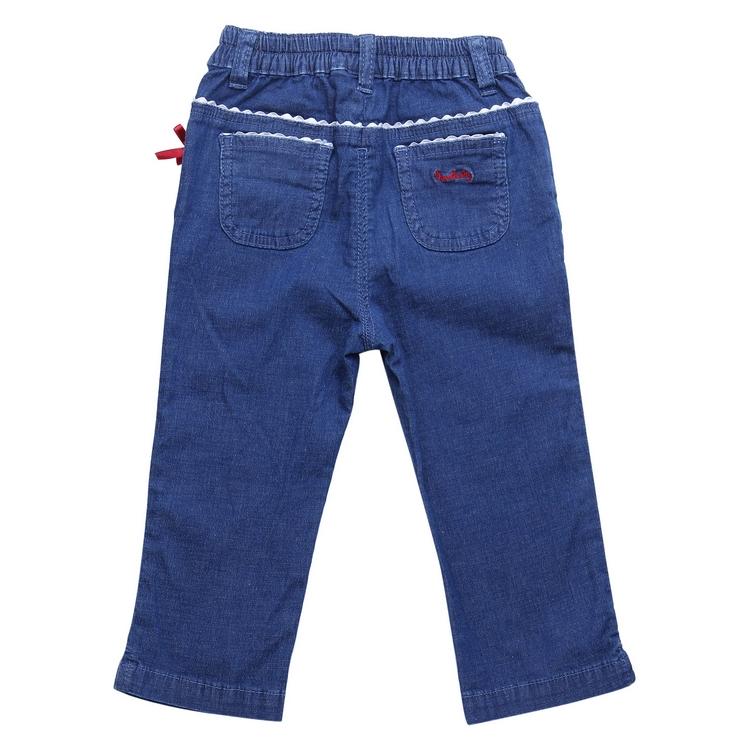 детские штаны Новые дети/аристократ случайные весна/лето 2012 детей девочек джинсовой ткани стрейч брюки 210444032