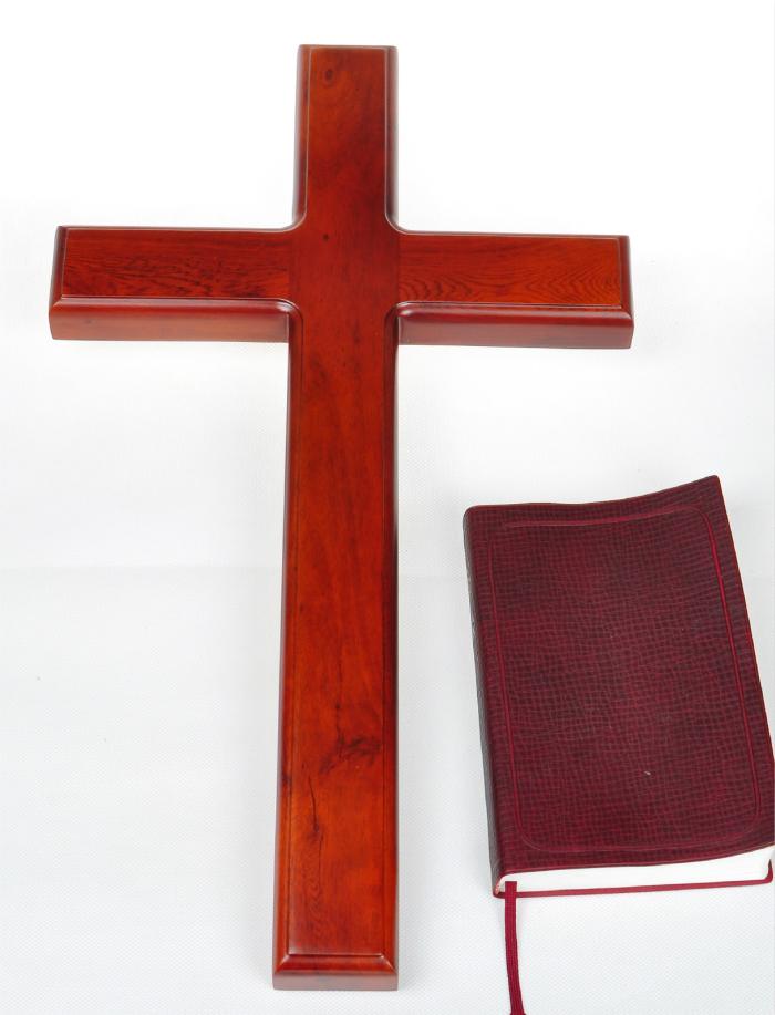 包邮 雅歌 基督教礼品 十字架 大实木十字架