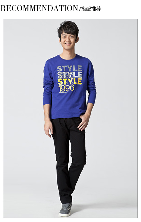 Semir Semir spring clearance male models fight grid the wild casual pants cotton men pants Free Post