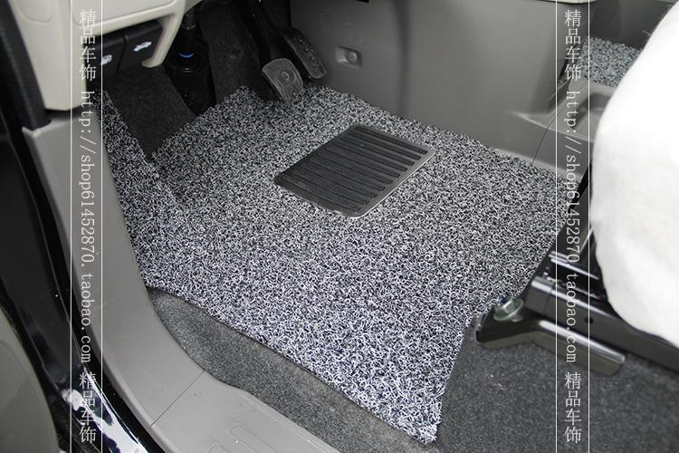 汽车 脚垫/郑州日产尼桑nv200脚垫汽车加厚丝圈脚垫232/223专用全车铺满