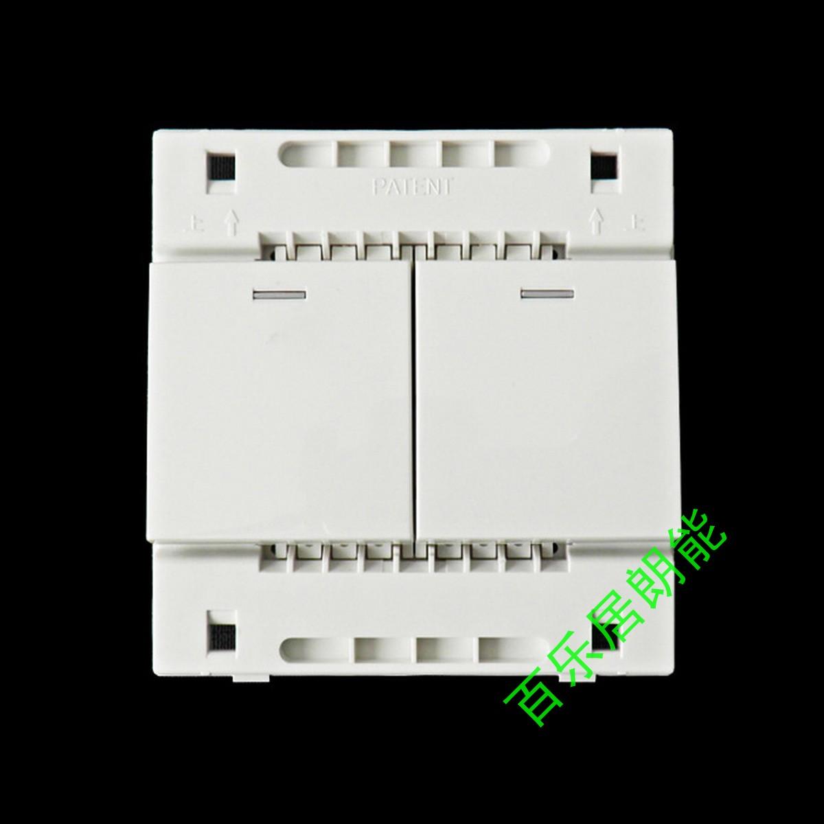 Выключатель двухклавишный TCL  A8