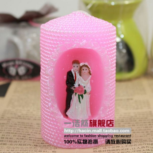 Haoin Creative fashion him a candle romance wedding wedding wedding wedding supplies gifts gift for newcomers