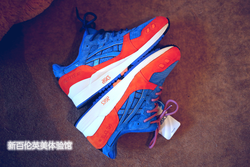 Кроссовки Asics RONNIE FIEG GEL LYTE III NEW YORK CITY