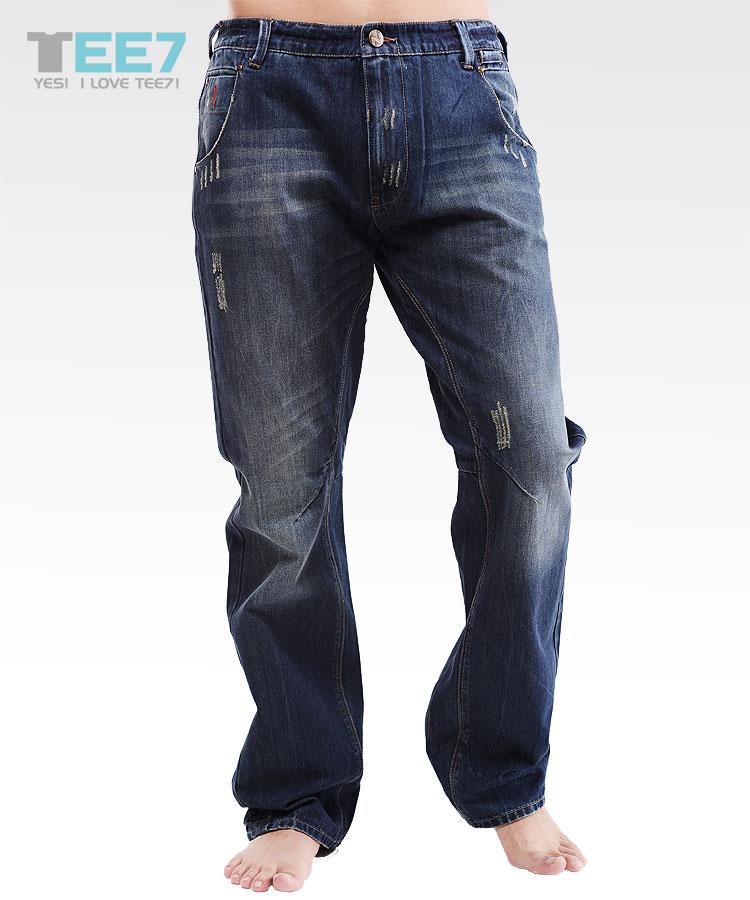 时尚潮流新品棉质男士牛仔裤