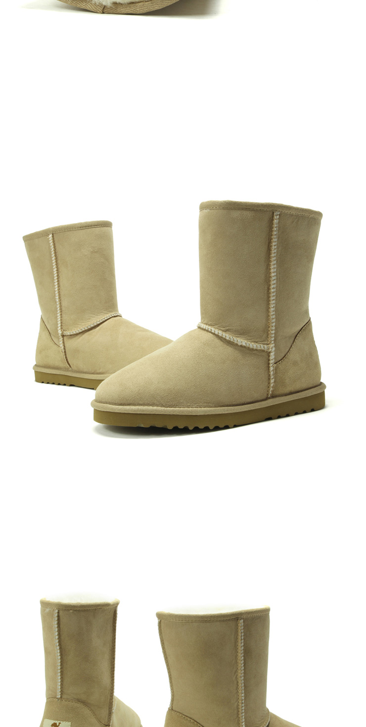 Outdoor shoes outdoor recreation a genuine warmth of camel wool-one snow boots women boots