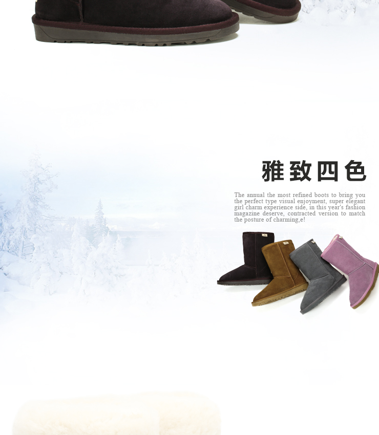 Camel outside the user's snow boots winter fashion boots women boots