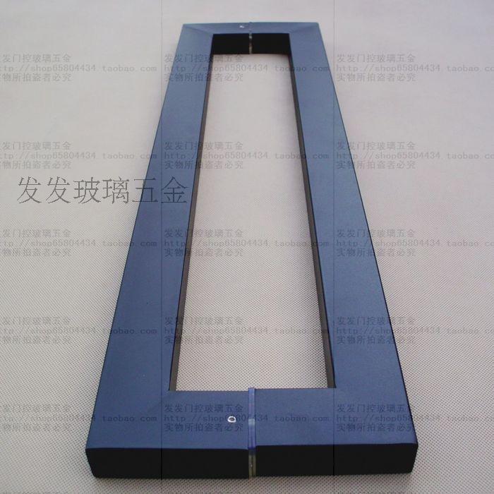 冲钻标识玻璃门不锈钢大拉手门图纸喷烤黑漆cad网线特价把手普通8芯图片