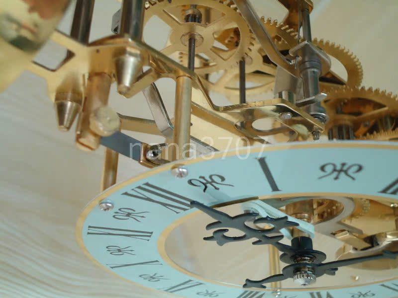 FTT 北极星机械机芯机械钟报时透视钟钟表配件机芯机械座钟