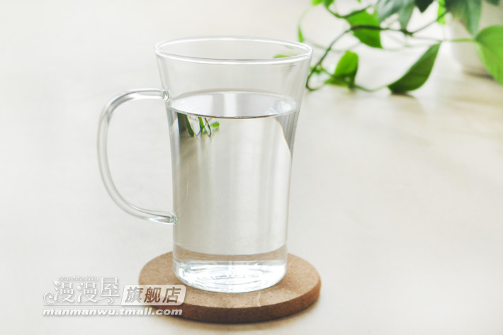 Manman Endless creative hand-made glass flowers cup milk Cup Office Cup special offer breakfast tea set
