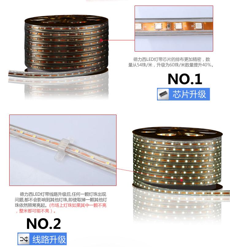 светодиодный дюралайт Delixi  LED 3528 60 - 9