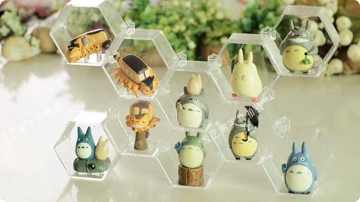 Hayao Miyazaki TOTORO Miyazaki's Totoro doll idea DIY display doll buys decorations for Christmas to send female birthday gift