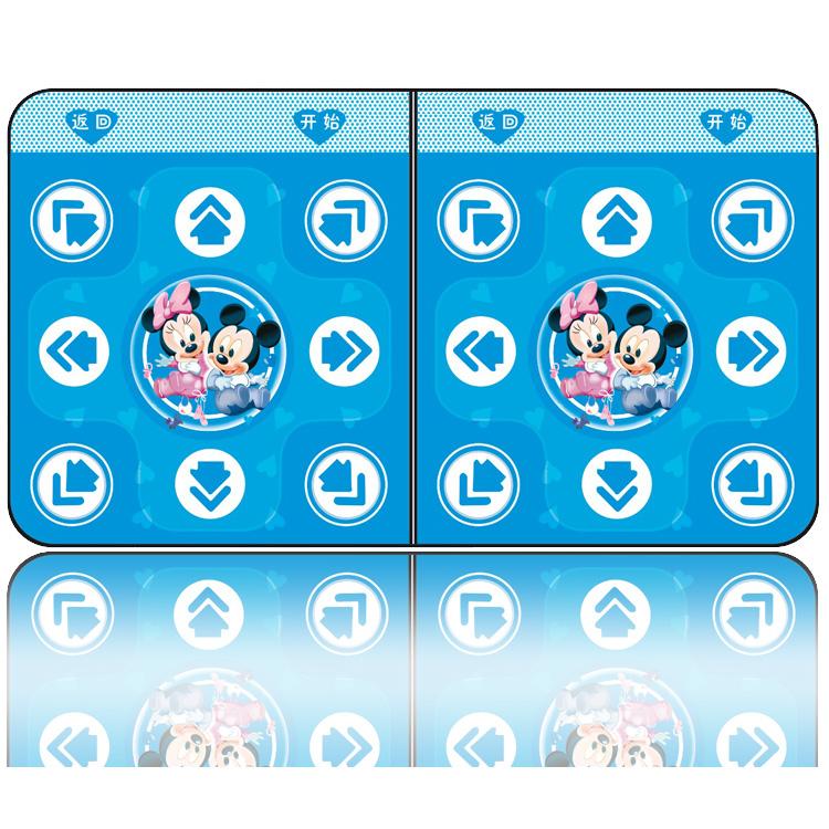 танцевальный коврик 2013 Новый китайский TV компьютер двойного двойной любви Dance Dance мат домашнего фитнеса вес потеря Топ Kit почта