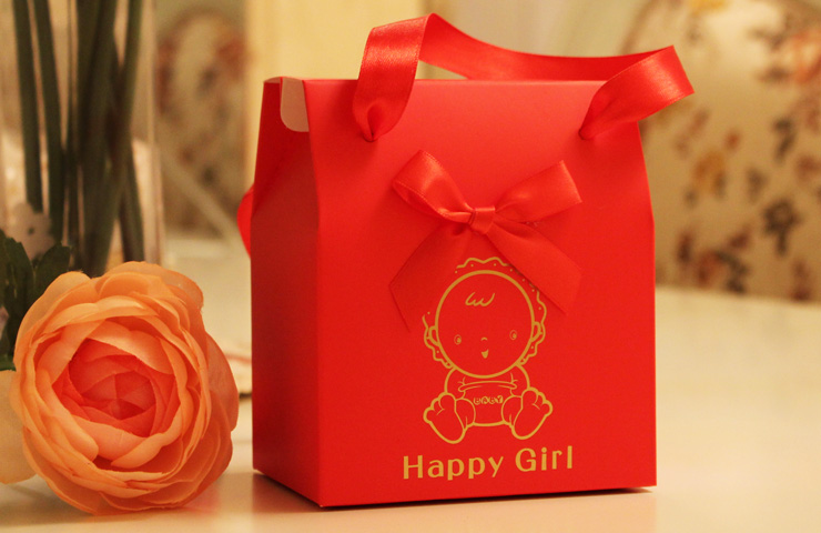 Sweetlive baby full Moon age of happiness candies bags on Xidan creative return a salute happiness candies return a salute bag
