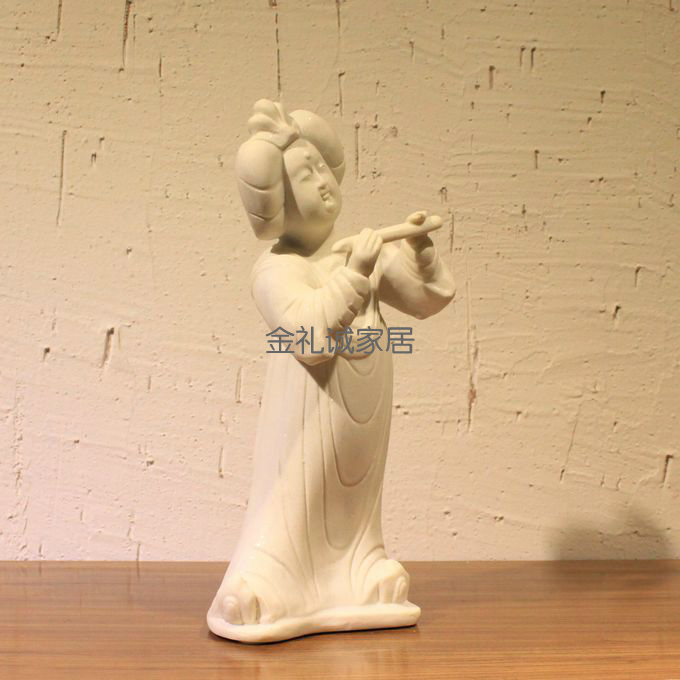 Find life Found new life Chinese style figures figurines ornaments ornaments ornaments ornaments Tang music for Ladies