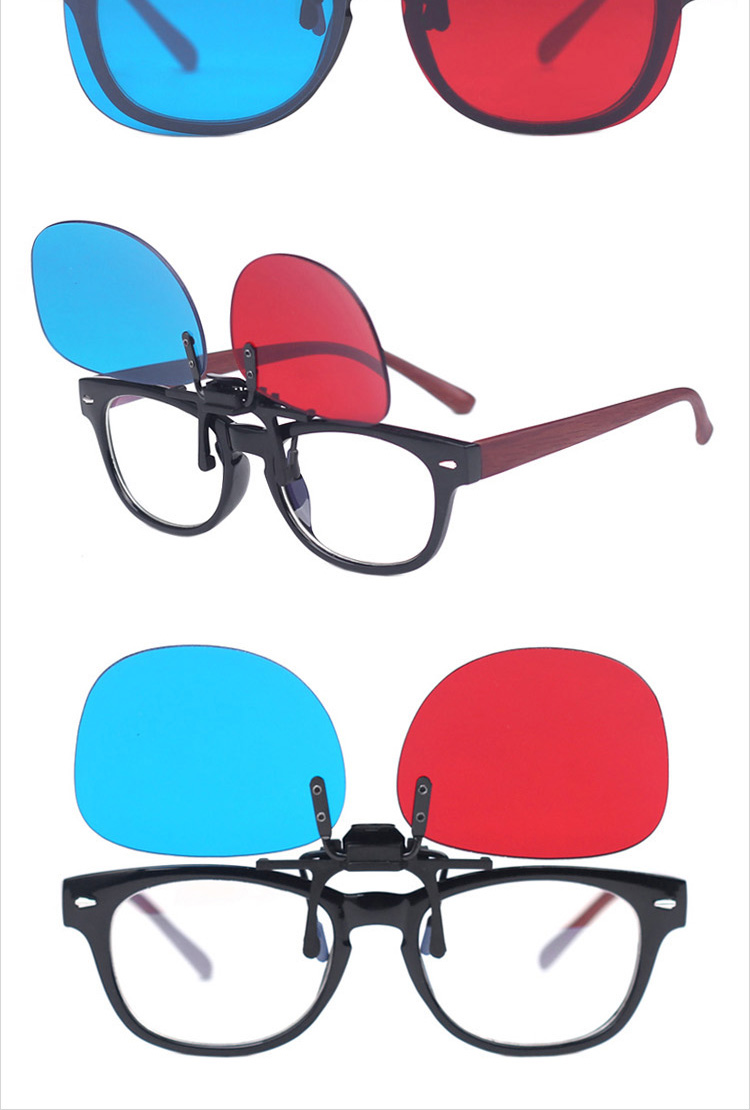 Bertha BERTHA red-blue 3D glasses 3D stereo glasses 3D TV computer special myopia eyes and 3 trapped group