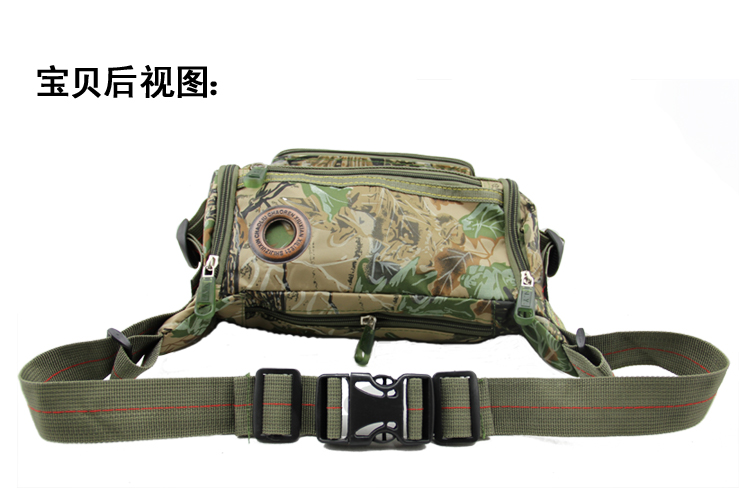 Three Eagle pockets upgraded version of jungle camouflage attacking fashion outdoor Pocket multifunction pockets
