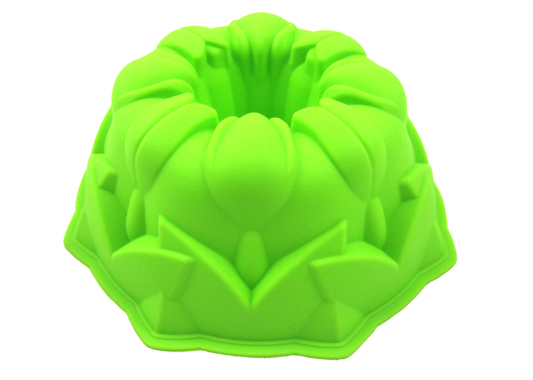Drake DOLO Drake tulip-shaped birthday cake silicone mould core-pulling practice model is equipped with full