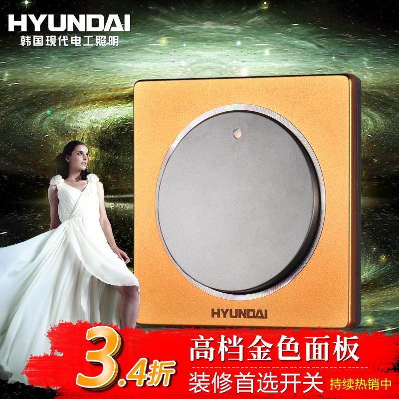 Выключатель одноклавишный Hyundai  86