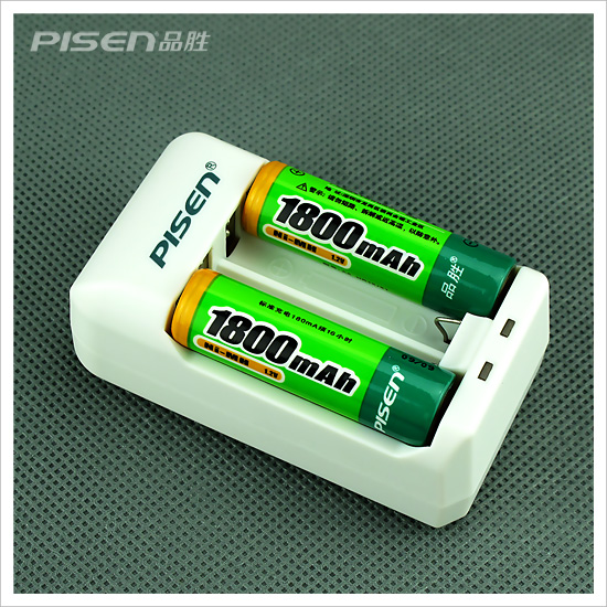 Piseen Mall genuine product wins Digital Po Charger Kit 5 AA rechargeable battery 1800mAh 2-Pack