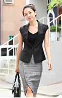 Женская куртка high quality fashion Women shirt, Short Jacket 2012 spring and autumn coat women all-match short jacket
