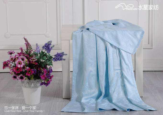 Mercury textile smooth bamboo fiber towel blanket blanket thin skin-friendly air-conditioning / smooth / cool