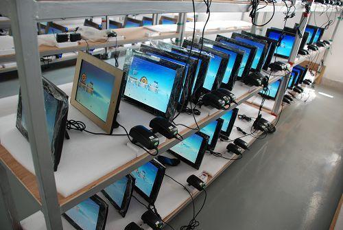 Цифровая фоторамка Фабрика специальные низкие цены! Импортированные Samsung AA-экрана 17 дюймов - 19-дюймовый HD цифровая фото рамка/Реклама