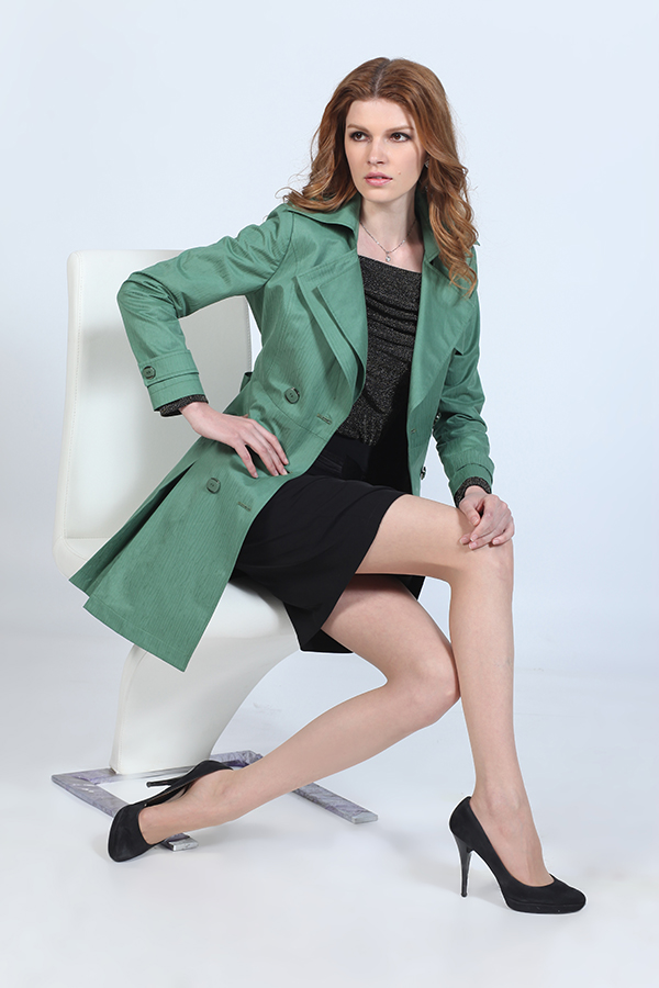 Celebrity Rui -chang Celebrity Rui Couture 2012 Autumn new women's Europe and America Slim lace long coat female coat Spring 12537