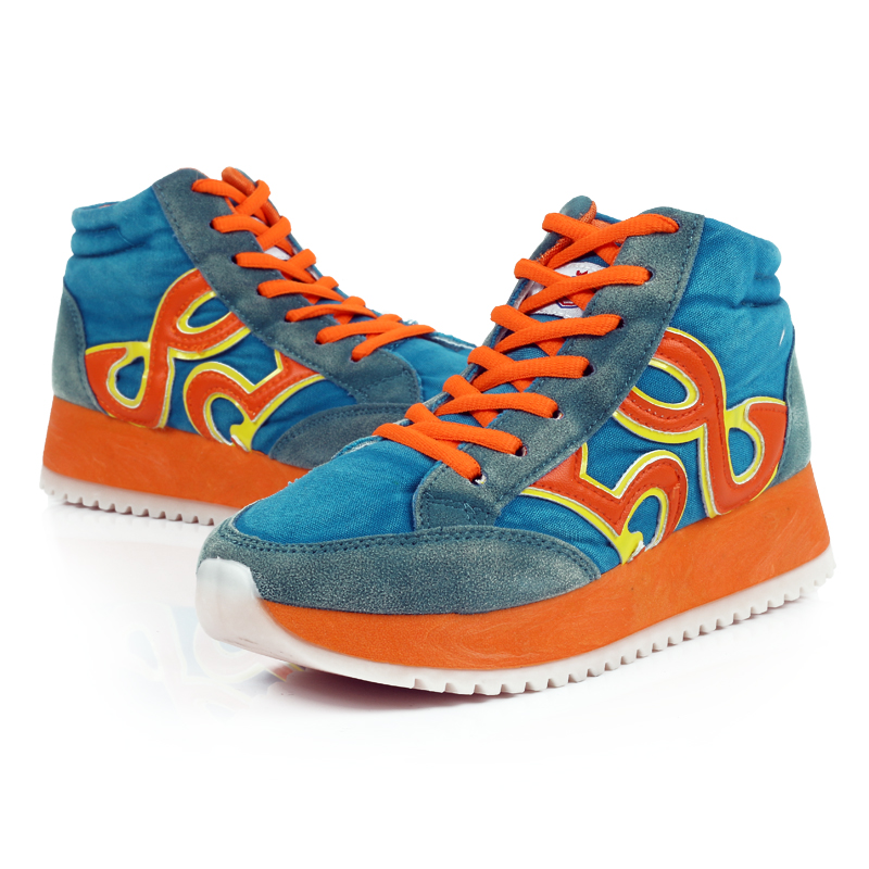 Женские сапоги «Содействие» Весна Новая стиральная обувь платформы занос, тряся Форрест обувь высокого женщин обувь