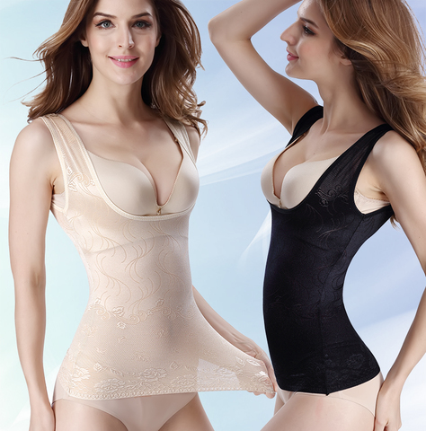 薄透气加强塑身背心束身衣收腹衣美体衣 女塑形衣塑身衣塑身上衣