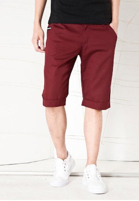短裤男士服装搭配图片(6)