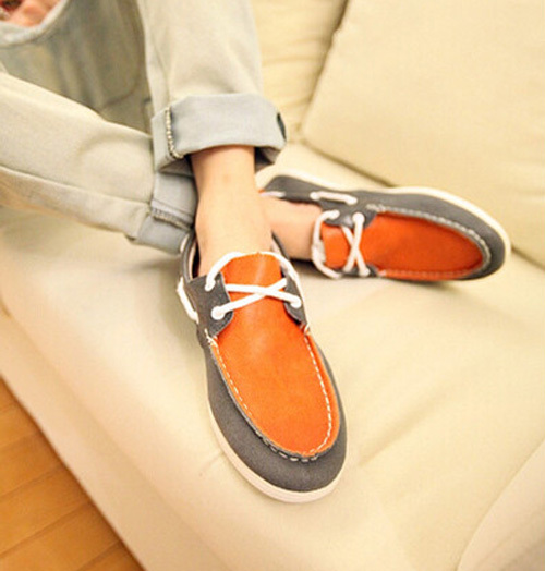 春季鞋子时尚男装搭配图片(4)