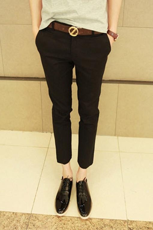 秋季裤子服装搭配图片(3)
