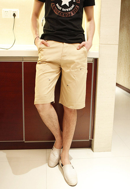短裤男士服装搭配图片(2)