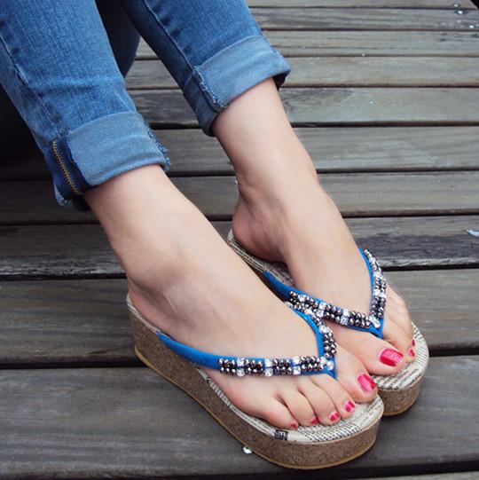 夏日好看鞋子女装穿衣搭配(4)