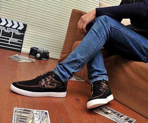 男鞋穿衣怎么搭配